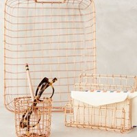 Copper Lattice Desk Collection by Anthropologie in Copper Size: