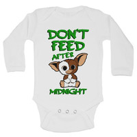 DON'T FEED AFTER MIDNIGHT - Cute Baby Onesuit
