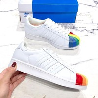 ADIDAS SUPERSTAR 2019 new men and women models shellfish casual sports low-top shoes