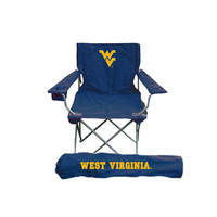 West Virginia Mountaineers NCAA Ultimate Adult Tailgate Chair