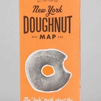 New York Doughnut Map By All You Can Eat Press- Assorted One