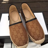 Gucci Leisure Baitie Fisherman Shoes