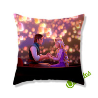 Tangled Walt Disney Animation Square Pillow Cover