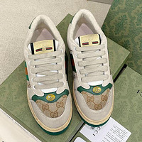 GUCCI GG Screener women's leather sneakers shoes