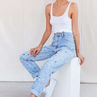 Vintage Levis Paint Splattered Jean - Urban Outfitters
