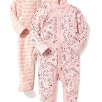 Patterned One-Piece 2-Pack for Baby | Old Navy