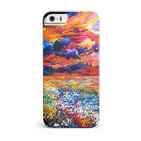 Oil Painted Meadow iPhone 5/5S/SE INK-Fuzed Case