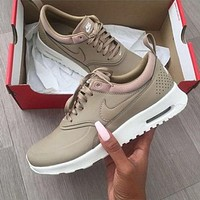 Trendsetter Nike Air Max Thea Premium Women Men Casual Sport Runing Shoes Sneakers
