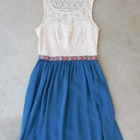 Lace Watercourse Dress