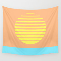 Summer Sun Wall Tapestry by Brian Biles