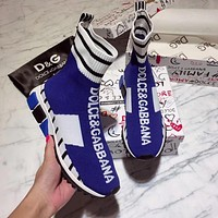 DOLCE & GABBANA Fashionable and casual socks and shoes-1