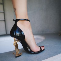 Saint Laurent Pairs YSL Trending High Heels Shoes Sandals