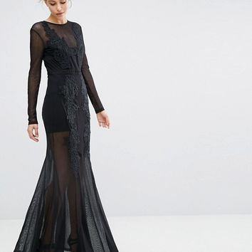 Alice McCall Set The World On Fire Maxi Dress at asos.com