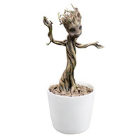 Baby Groot Guardians Of The Galaxy Motion Statue