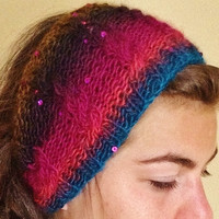 Headband for Women/headband with Button/ headband with Cables