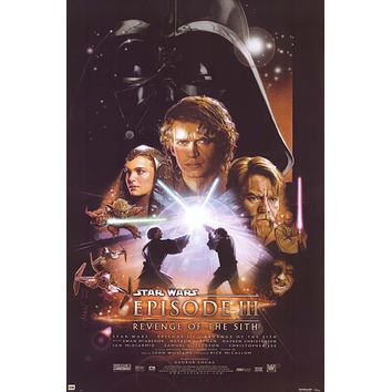 Star Wars Episode III Revenge of the Sith Poster 24x36