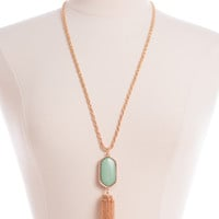 Simply Classic Necklace, Mint