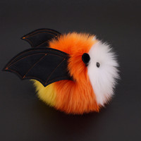Candycorn Bat Stuffed Animal Plush Toy