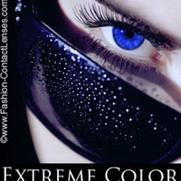 Sexy Sapphire Extreme Color Contact Lenses
