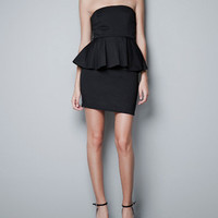 DRESS WITH FRILL AT THE WAIST - Dresses - Woman - ZARA United States