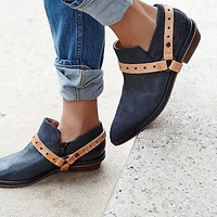 FP Collection Womens Vicente View Ankle Boot