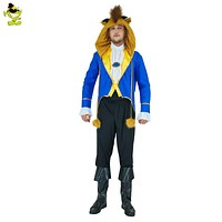 New Arrival Men wild beast Hot Movie Costume Wild Beast Adults Men Dress Up Role Play Fancy Clothing For Halloween Party