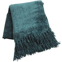 Spruce Chenille Throw