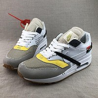 Nike Air Max 1 X Off-White Running Shoes