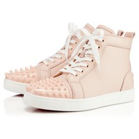 Lou Spikes Womens Poudre Leather