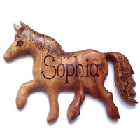 Children's Name Sign, handmade wooden animal shape of your choice. Bedroom Sign. Personalised, custom, Wood Burning, Pyrography, Nursery, uk