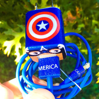 Captain America iPhone 5/6/7 Charger