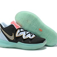 Nike Kyrie 5 EP - Black/White/Fluorescent Green/Pink