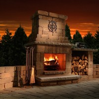 Necessories Colonial Fireplace Kit