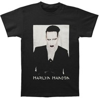 Marilyn Manson Men's  Proper 2015 Tour T-shirt Black