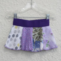 Onsie Skirt for Baby made from Upcycled T Shirts, Baby Skirt made from Recycled Tshirts,Infant Onsie Skirt, Baby Skirt, Skirt (22)