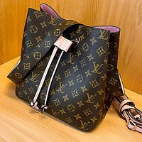 Louis Vuitton LV Hot Sale Classic Print Letter Retro Ladies Shopping Shoulder Bag Bucket Bag