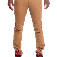 Men's Skinny Fit Colored Jeans (Wheat)