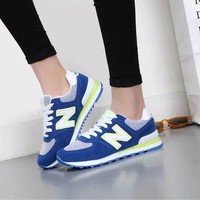 New Balance Fashion Casual All-match N Words Breathable Lover Sneakers Shoes-7