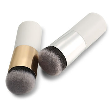 New 1PC Short Professional Foundation Makeup Face Blush Cream Powder Flat Top Portable Brush = 1838490884