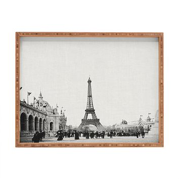 Bianca Green VINTAGE PARIS AROUND 1900 Rectangular Tray