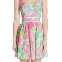 Lilly Pulitzer® 'Rosemarie' Cotton Fit & Flare Dress | Nordstrom