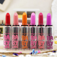 New batom baby lips Lip Balm lipstick maquiagem makeup maquillaje beauty make up lips batons matte lipstick lipsticks