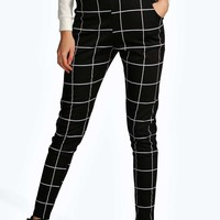 Leah Ponte Pocket Detail Printed Leggings
