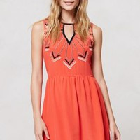 Embroidered Loire Dress by Chloe Oliver Pink S Dresses