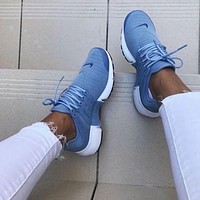 Nike Air Presto Fashion Woman Casual Running Sport Shoes Sneakers Blue I