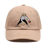 Trendy Winter Jacket Uncle Drew Dad Hat Tan Basketball Comedy Baseball Cap Kyrie Irving Snapback Caps 100% Cotton Embroidery Hip Hop Bone Unisex AT_92_12