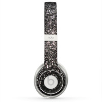 The Black Unfocused Sparkle Skin for the Beats by Dre Solo 2 Headphones