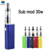 New Arrival e cigarette sub mod 30w Kit Vaporizer 2.0ml atomizer 30W mod battery vaporizer with M18 tank for eliquid box mod kit