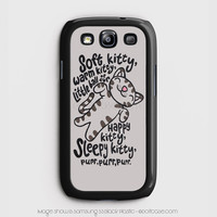Cute Cat Soft Kitty Song Samsung Galaxy S3 Case, Samsung Cases