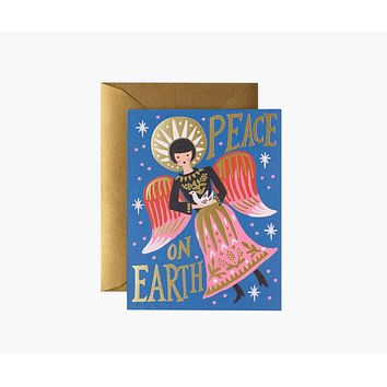 Peace on Earth Angel Cards - Boxed Set of 8